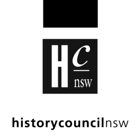 NSW History Council Symposium