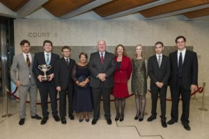 His Excellency, the Governor-General of Australia, Sir Peter Cosgrove AK MC with the 2014 prize winners.