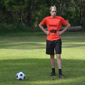 King John - Determined to win.