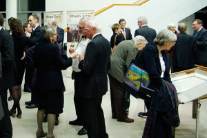 Guests at Magna Carta Exhibition Launch