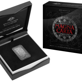 Royal Australian Mint Magna Carta Coin
