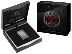 2015_$5_Fine_Silver_Antique_Rectangular_MagnaCarta_PACKAGING