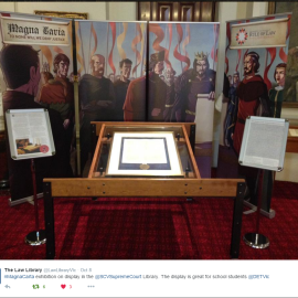 Magna Carta Exhibition at the Supreme Court Library of Victoria